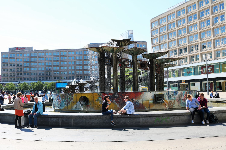 Alexanderplatz Berlin Allemagne