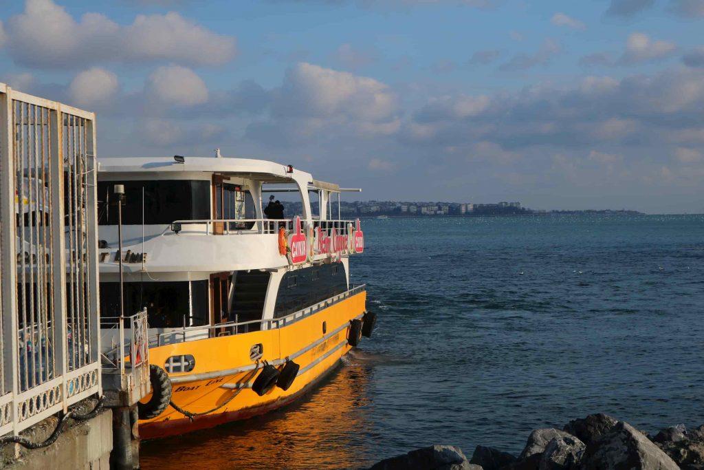 bateau Bosphore Istanbul Turquie