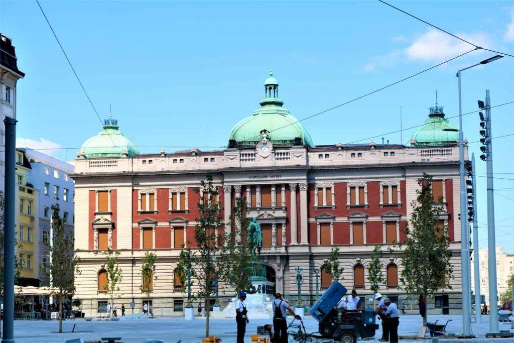 Belgrade place centrale