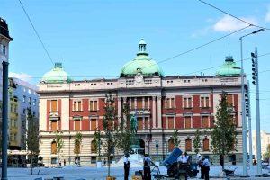 Belgrade place centrale-