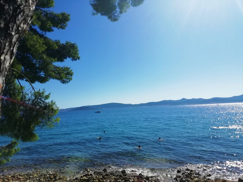 Croatie Zadar Plage Mer vacances