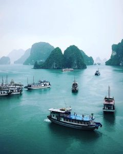 Halon Bay Bateau Vietnam