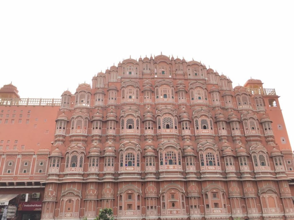 Palais des vents Jaipur Inde
