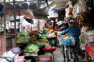 Phnom Penh Marche Cambodge