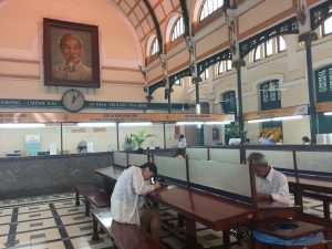 Poste Ho Chi Minh Vietnam