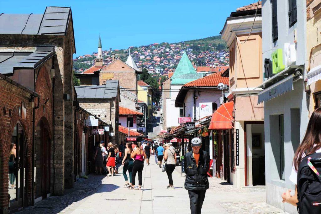 Sarajevo quartier turc Bosnie