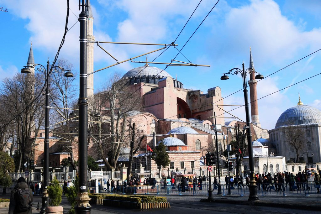 St Sophie Istanbul Turquie