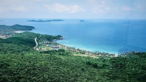 Phu Quoc vue plage telepherique