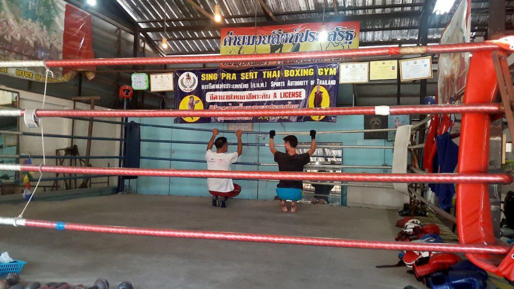 Chiang Mai Boxe Thai Thailande