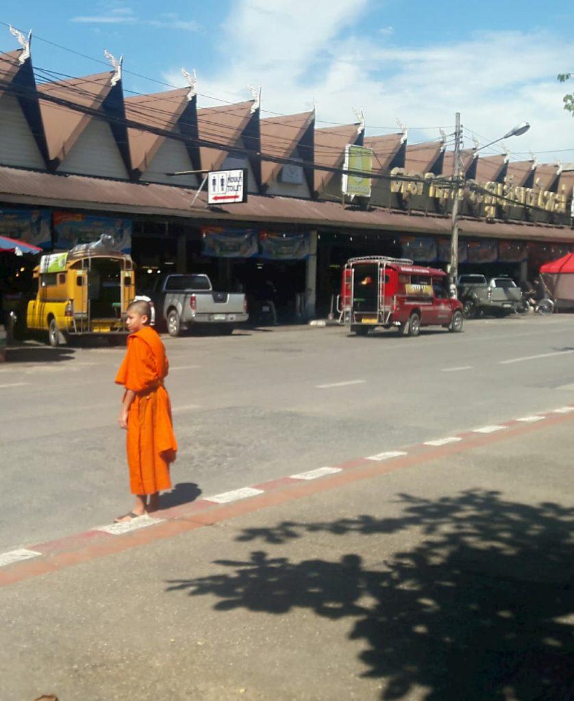 Moine Chiang Mai Thailande