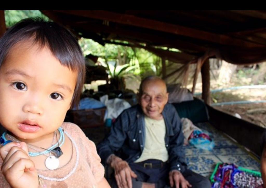 Kareens peuple Thailande