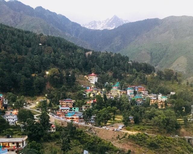Vue Hôtel Dharamsala