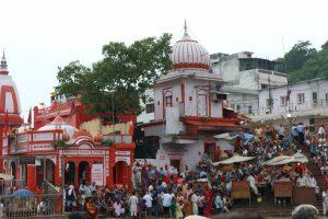 Haridwar Gange ceremonie Inde