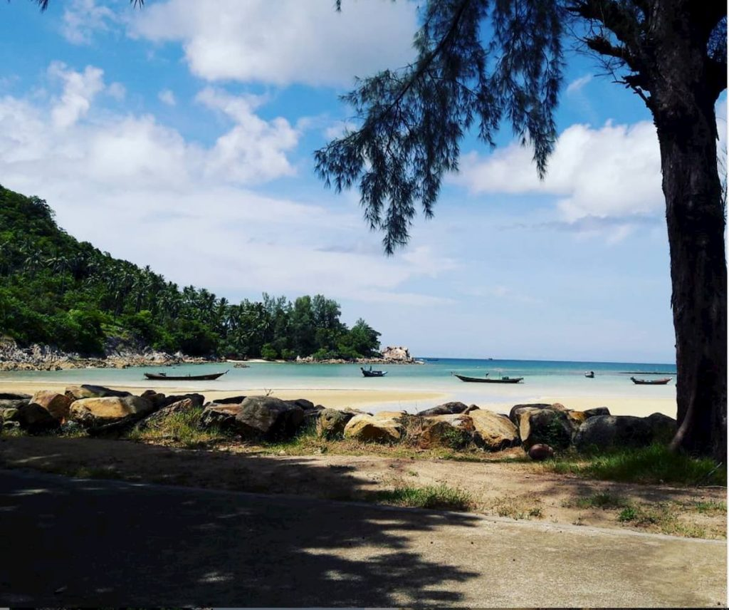 Watana Resort Koh Phan Ngan Thailande Hotel vue