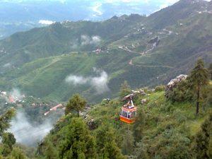 Mussoorie vue de haut Inde
