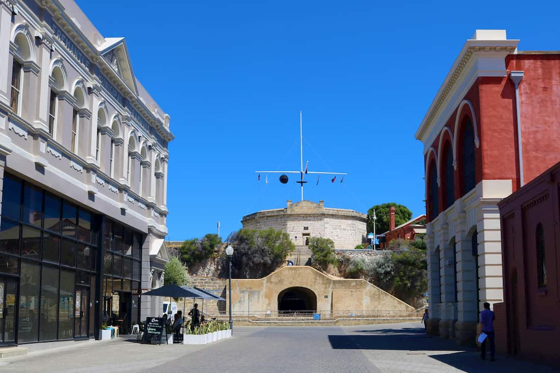 Fremantle round house