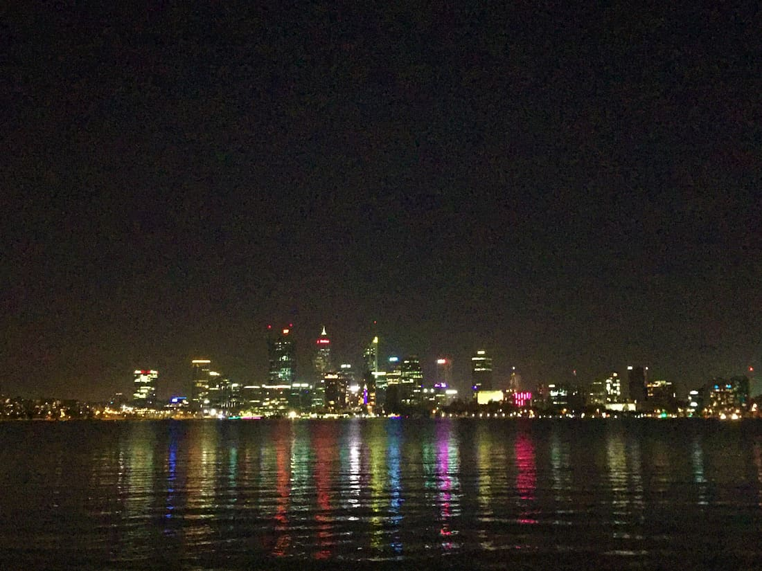 South perth de nuit