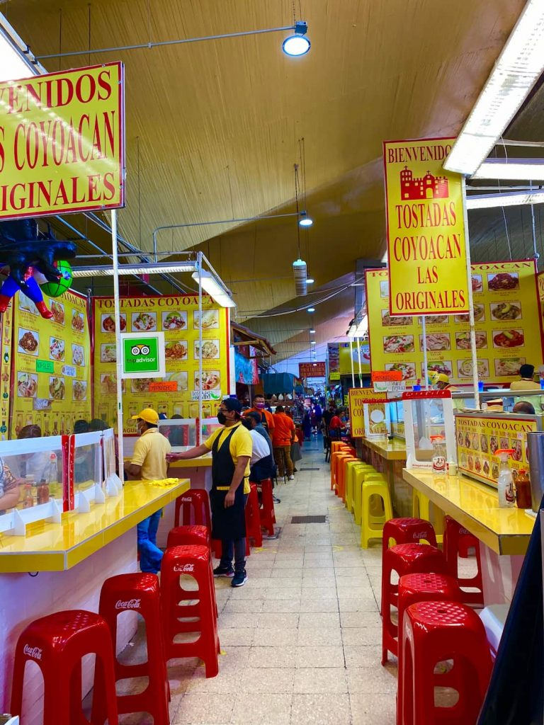 Market à Coyoacan