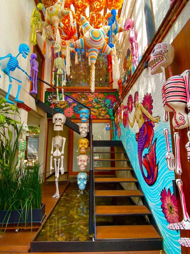 Sculptures squelettes Mexico City