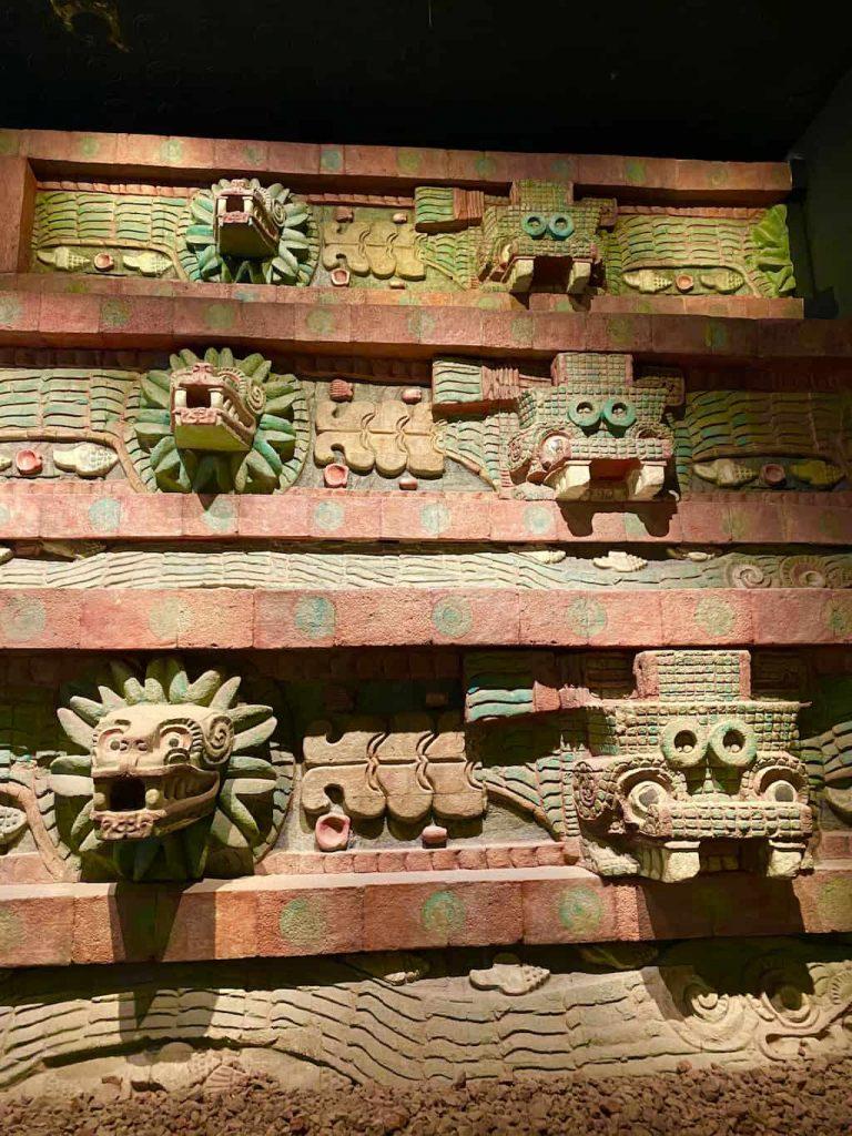 Musée de l'anthropologie à Mexico City
