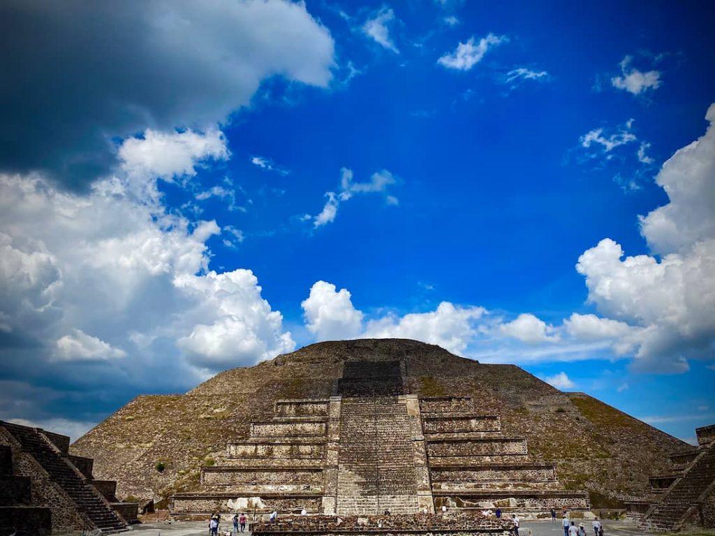 Teotihuacan pyramides Mexico City